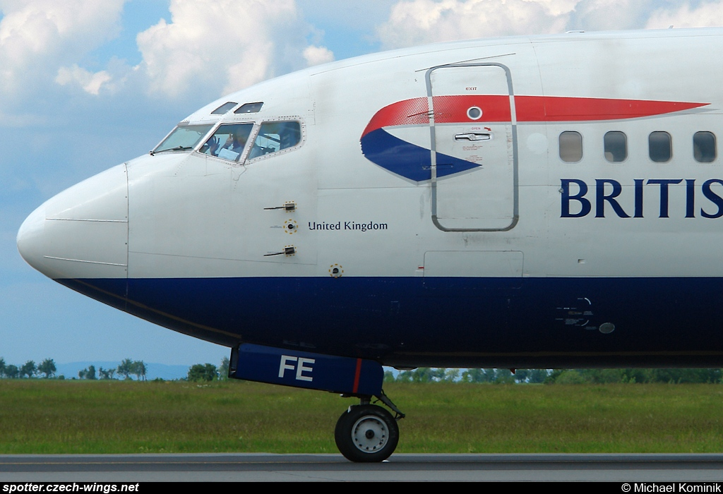 British Airways | Boeing 737-528 | G-GFFE