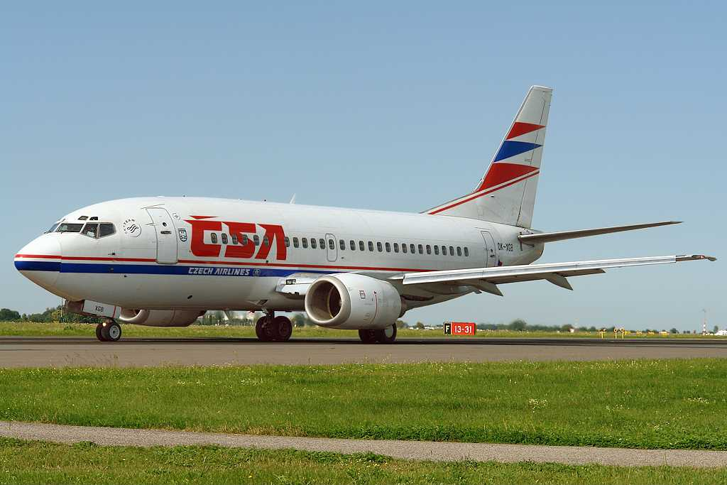 CSA Czech Airlines | Boeing 737-55S | OK-XGB