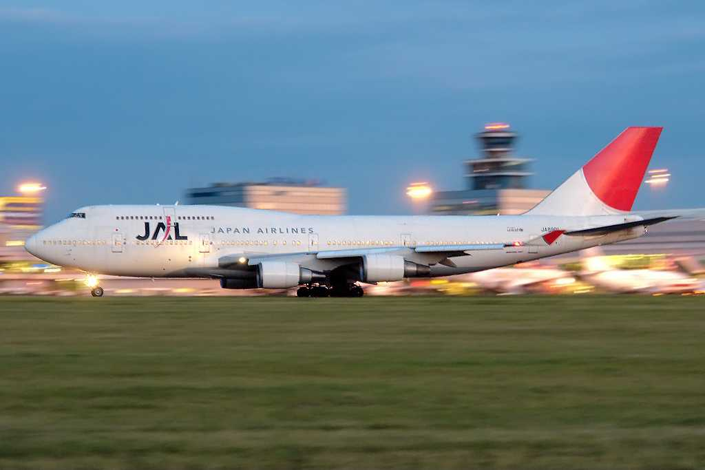 Japan Airlines | Boeing 747-446 | JA8901