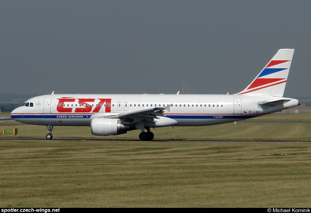 CSA Czech Airlines | Airbus A320-214 | OK-LEF