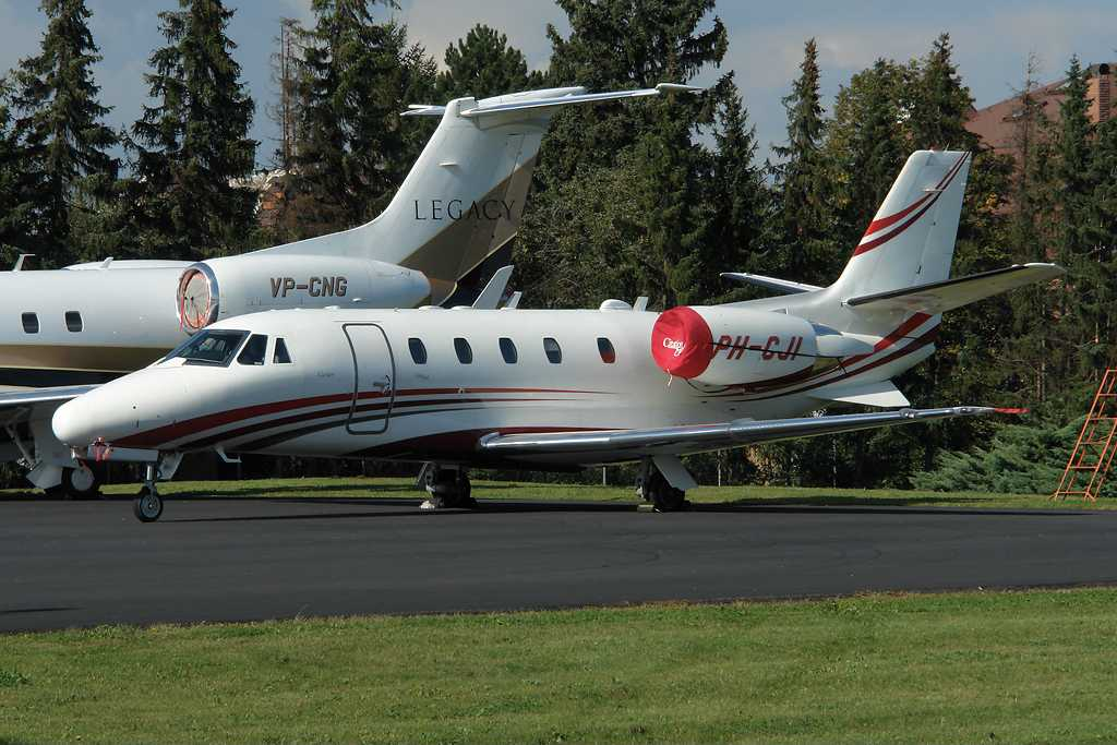 Cartier Europe | Cessna 560XL Citation Excel | PH-CJI