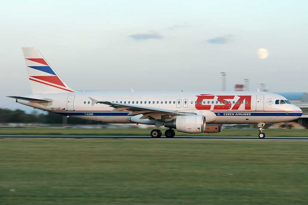CSA Czech Airlines | Airbus A320-214 | OK-LEE