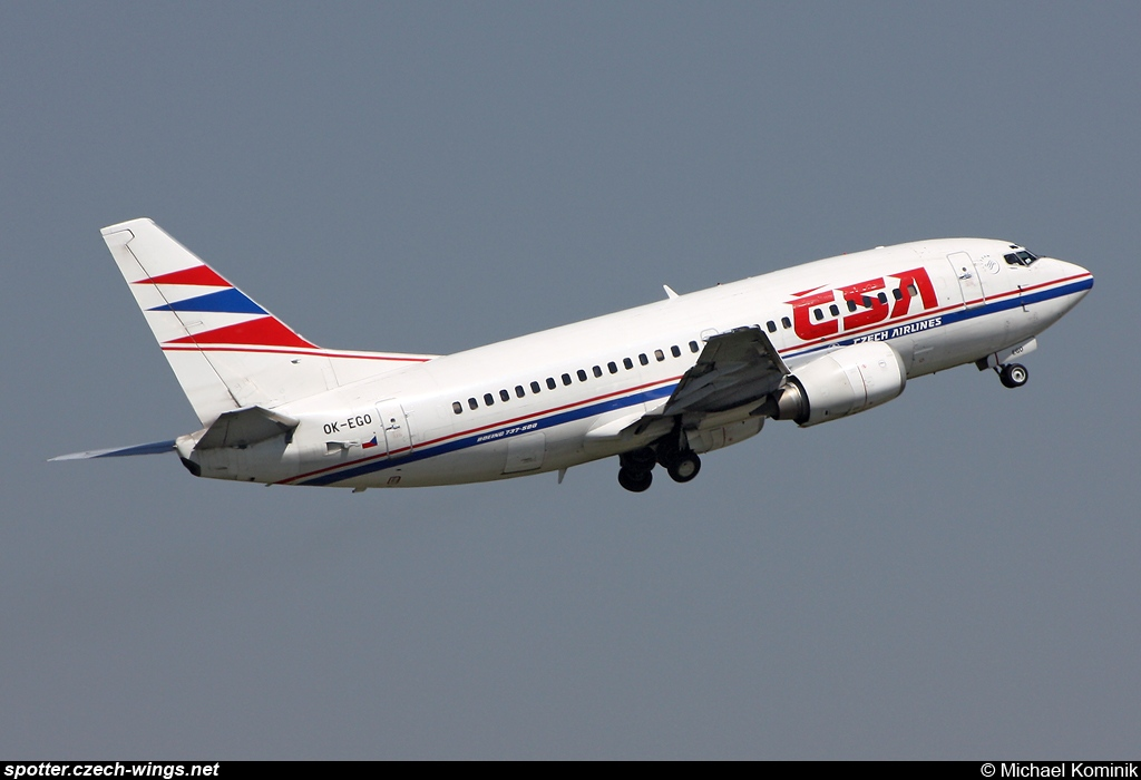 CSA Czech Airlines | Boeing 737-55S | OK-EGO