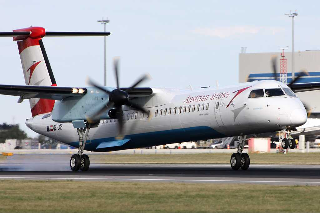 Tyrolean Airways | Bombardier Dash 8-Q402 | OE-LGE