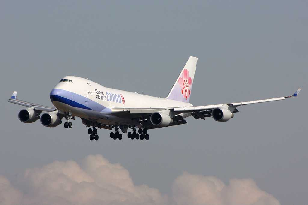 China Airlines Cargo | Boeing 747-409F/SCD | B-18725