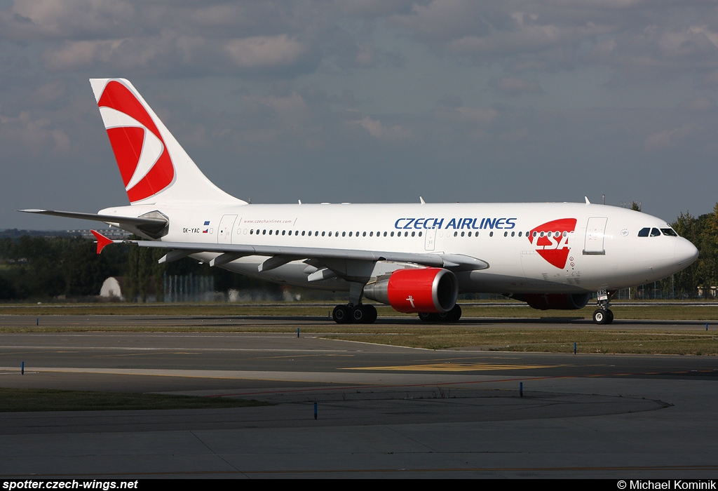 CSA Czech Airlines | Airbus A310-325ET | OK-YAC
