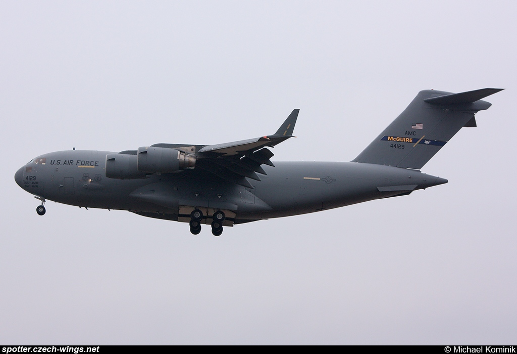 United States Air Force | Boeing C-17A Globemaster III | 04-4129