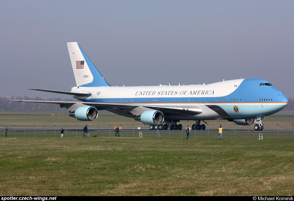 United States Air Force | Boeing VC-25A | 92-9000