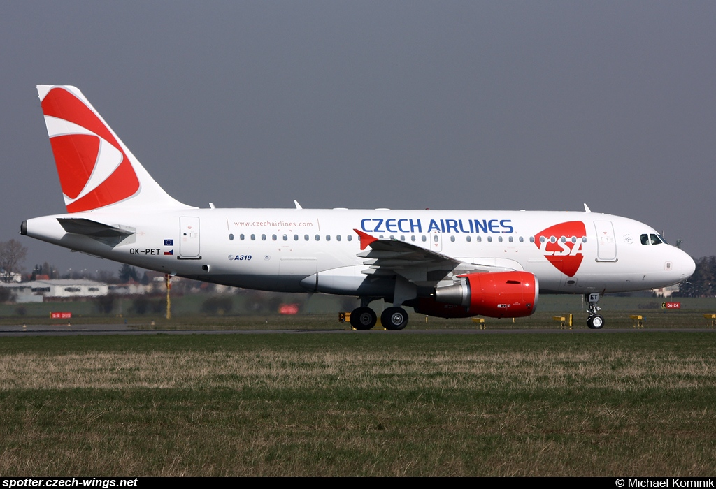 CSA Czech Airlines | Airbus A319-112 | OK-PET