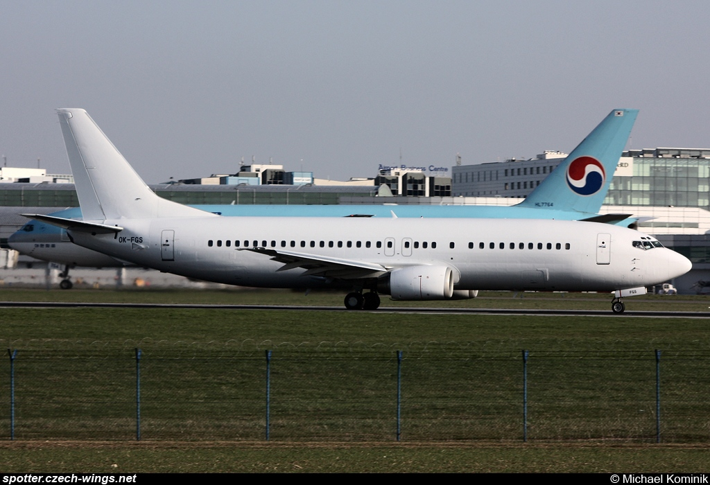 CSA Czech Airlines | Boeing 737-45S | OK-FGS