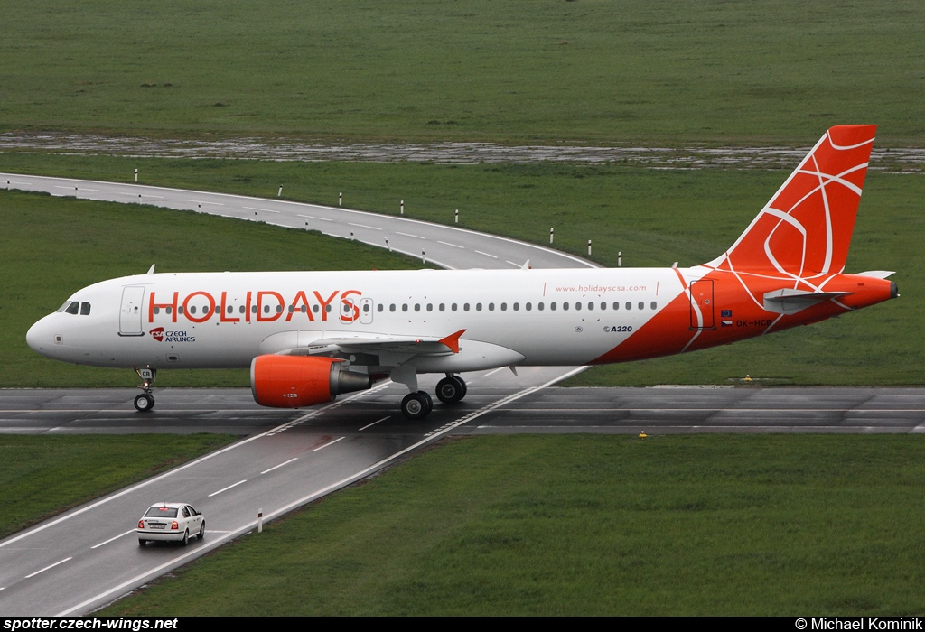 Holidays Czech Airlines | Airbus A320-214 | OK-HCB
