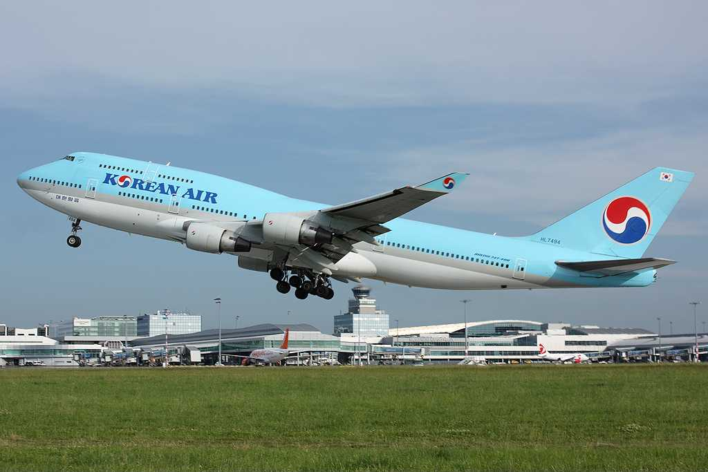 Korean Air | Boeing 747-4B5 | HL7494