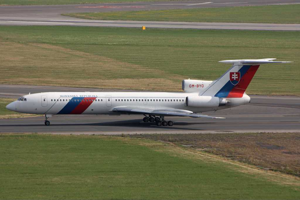 Slovak Government Flying Service | Tupolev Tu-154M | OM-BYO