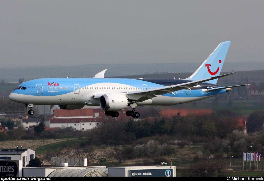 TUI Airlines Netherlands | Boeing 787-8 | PH-TFM